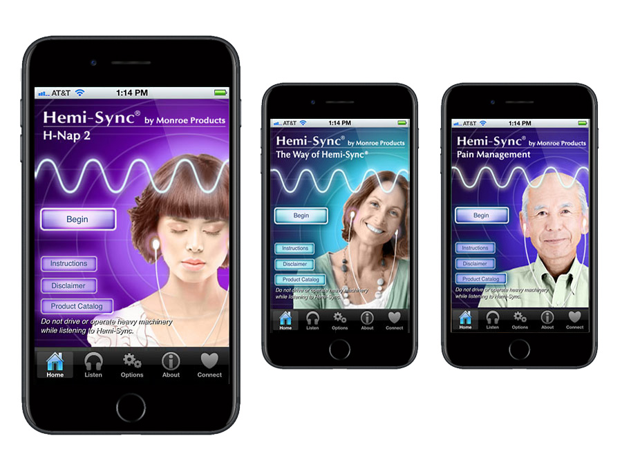 Monroe Sound Therapy app